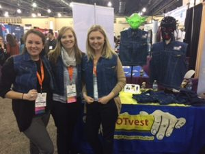 OTvest-students_try_on_OTvest_at_AOTA_2017